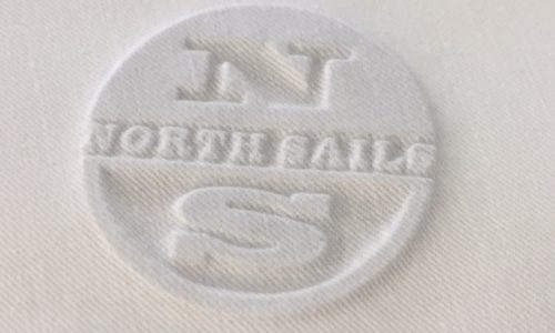 NORTH SAILS EMBOSSING